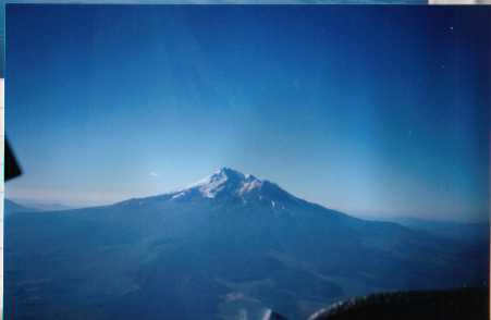 Mt. Shasta, much further south in the same range, but the only picture I have of this range